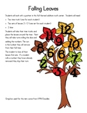 Falling Leaves Addition Activity