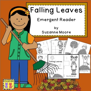Falling Leaves, Autumn, Emergent Reader, Freebie