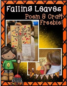 Falling Leaves Craftivity {Freebie!}