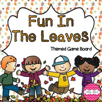 Falling Leaves (Fall / Autumn Themed Math Game Board)