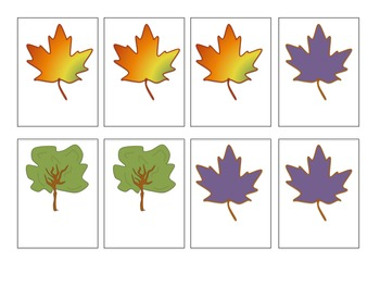 Falling Leaves- Irregular Verbs