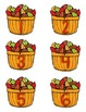Fall/Autumn Differentiated First Grade Math Center {Count to 120}
