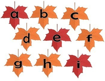 Phoneme Segmentation - Falling Leaves