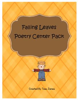 Falling Leaves Poetry Center Pack