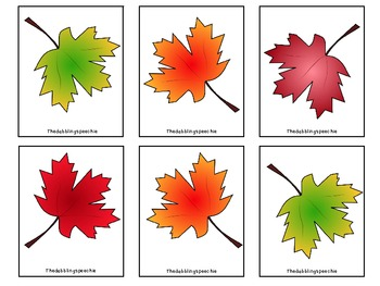 Falling Leaves: Prepositions