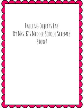 Falling Objects Lab