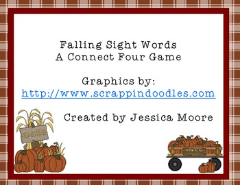 Falling Sight Words