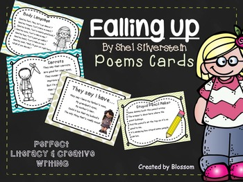 Falling Up poems printable cards