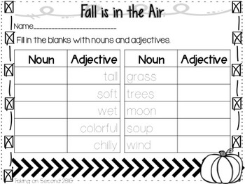 Falling for Adjectives