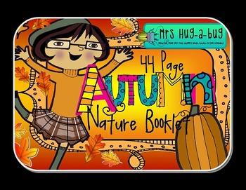 Falling for Autumn BUNDLE!  {Nature booklet, tree hugging & pumpkins}