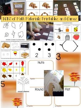 Preschool Unit 2: Falling for Autumn Preschool Curriculum Activities
