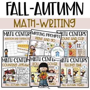 Fall Bundle Reading Writing and Math