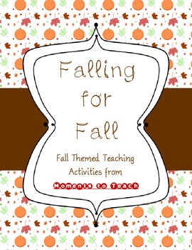 Falling for Fall: Common Core Aligned Math and ELA Center Activities