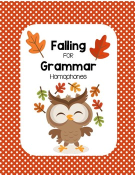 Falling for Grammar - Homophones