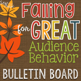Falling for Great Audience Behavior Bulletin Board