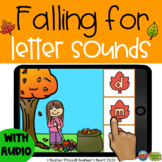 Falling for Letter Sounds with Boom Cards