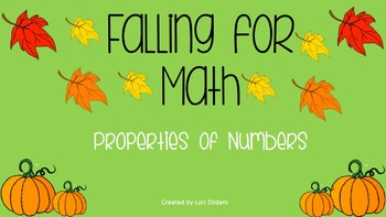 Falling for Math: A Properties of Numbers Review Game