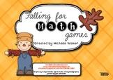 Falling for Math Games FREEBIE