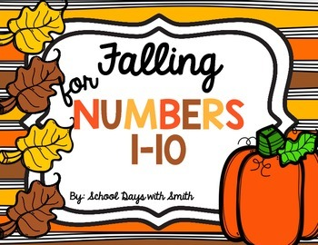 Falling for Numbers 0-10