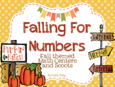 Falling for Numbers: Fall themed math centers and scoot
