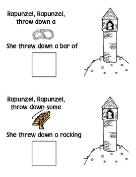 Falling for Rapunzel Rhyming Book