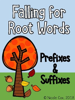 Falling for Root Words - Prefixes and Suffix Root Word Match