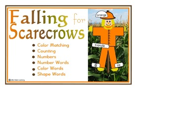 Falling for Scarecrows File Folder Game