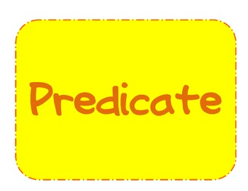 Falling for Subjects and Predicates
