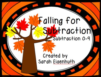 Falling for Subtraction Center Subtraction 0-9