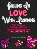 Falling in Love with Learning {ELA & Math Activities Aligned to Common Core}