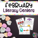February Literacy Centers