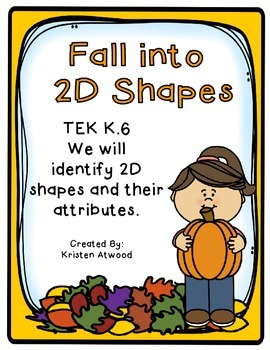 Fall into 2D Shapes