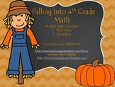 Falling into 4th Grade Math - 32 CCSS Task Cards