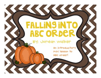 Falling into ABC Order