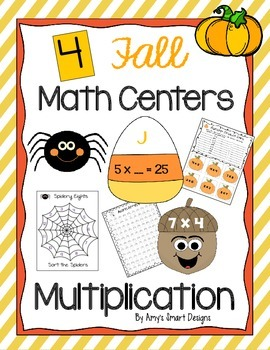 Falling into Multiplication Math Centers
