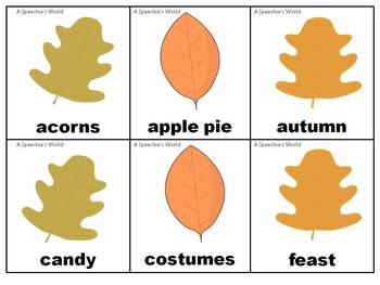 FALL (Vocabulary and Prepositions)