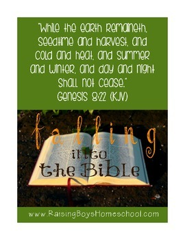 Falling into the Bible