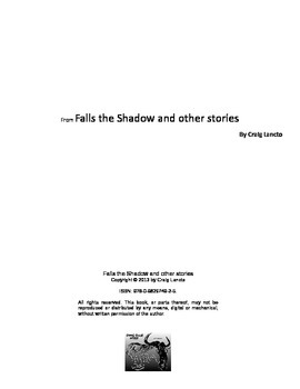 """""""Falls the Shadow,"""" A short story with exercises and vocabulary."""
