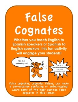 False Cognates-Cognados Falsos