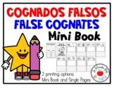 False Cognates Mini Book  Cognados Falsos