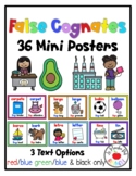 False Cognates Posters  Cognados Falsos