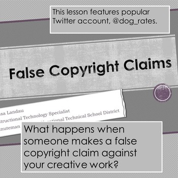 False Copyright Claims