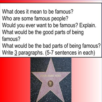Fame (claim, reasons, counterclaim) (its vs. it's) (their vs. they're)