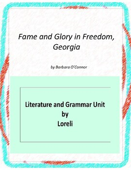 Fame and Glory in Freedom, Georgial Unit With Literary and