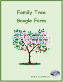 Famiglia (Family in Italian) Google Form Distance Learning