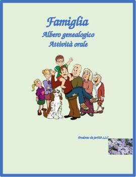 Famiglia (Family tree in Italian) Partner speaking activity