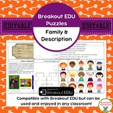 Familia (Family) & Description Breakout EDU Puzzles