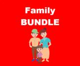 Família (Family in Portuguese) Bundle
