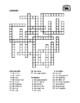 Familia (Family in Spanish) Crossword puzzle