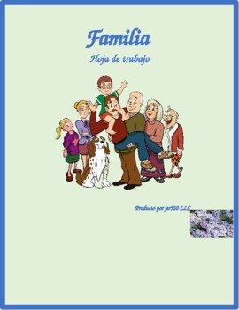 Familia (Family in Spanish) Worksheet